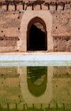 EL Badi Palace lizenzfreies stockbild