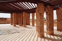 El Badi Palace rooftop Royalty Free Stock Image