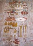 EL-Bahari di Deir del tempiale di Hatshepsout (Thebes), Egitto, Africa Fotografie Stock Libere da Diritti
