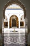 El Bahia pałac Fotografia Stock