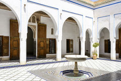 El Bahia Palace Fotografering för Bildbyråer
