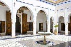 EL Bahia Palace Stockbild