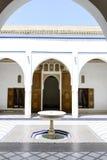 El Bahia Palace Royaltyfri Fotografi
