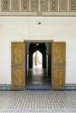 El Bahia Palace Royaltyfria Foton