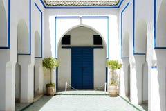 El Bahia Palace Arkivbild