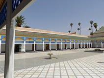 El Bahia Palace, Marrakech royaltyfria foton