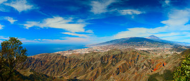 El Bailadero peak, Tenerife Royalty Free Stock Photo