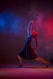El bailarín de ballet moderno adolescente Fotos de archivo