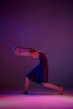 El bailarín de ballet moderno adolescente Imagen de archivo