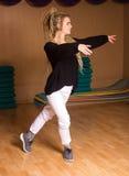 El bailarín de la curación está en actitud del baile Fotografía de archivo