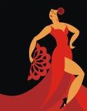 El bailarín del flamenco libre illustration