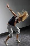 El bailarín moderno Fotografía de archivo