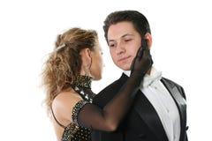 El bailar el vals Imagen de archivo