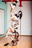 ¡El baile de poste es diversión! fotografía de archivo libre de regalías