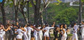 El baile es diversión Imagenes de archivo