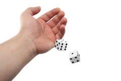 El balanceo de la mano corta en cuadritos Foto de archivo libre de regalías