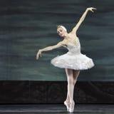 El ballet del lago swan se realizó por el ballet real ruso Imagen de archivo libre de regalías