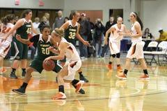 El baloncesto de las mujeres del NCAA Imagen de archivo