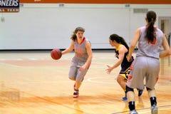 El baloncesto de las mujeres del NCAA Imagenes de archivo