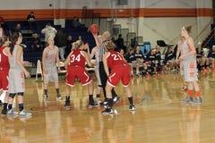 El baloncesto de las mujeres del NCAA Fotos de archivo libres de regalías