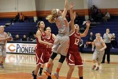 El baloncesto de las mujeres del NCAA Foto de archivo