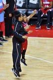 2015 el baloncesto de las mujeres del NCAA - templo contra el estado de Delaware Imagen de archivo libre de regalías
