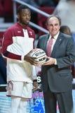 2015 el baloncesto de los hombres del NCAA - FDU en el templo Foto de archivo libre de regalías