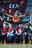 2015 el baloncesto de los hombres del NCAA - FDU en el templo Imágenes de archivo libres de regalías