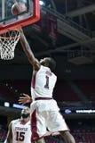 2014 el baloncesto de los hombres del NCAA - TEMPLO contra LIU Imágenes de archivo libres de regalías