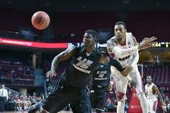 2014 el baloncesto de los hombres del NCAA - TEMPLO contra LIU Fotos de archivo libres de regalías