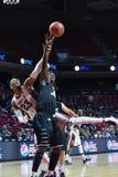 2014 el baloncesto de los hombres del NCAA - TEMPLO contra LIU Foto de archivo