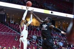 2014 el baloncesto de los hombres del NCAA - TEMPLO contra LIU Fotos de archivo