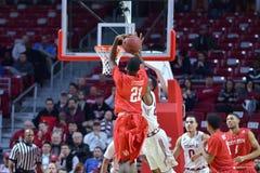 2015 el baloncesto de los hombres del NCAA - Templo-Houston Fotografía de archivo libre de regalías
