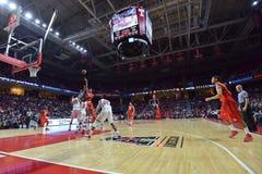 2015 el baloncesto de los hombres del NCAA - Templo-Houston Fotos de archivo