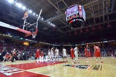 2015 el baloncesto de los hombres del NCAA - Templo-Houston Fotografía de archivo