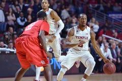 2015 el baloncesto de los hombres del NCAA - Templo-Houston Imagen de archivo libre de regalías