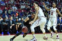 2015 el baloncesto de los hombres del NCAA - Templo-Tulsa Fotos de archivo libres de regalías