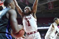 2015 el baloncesto de los hombres del NCAA - Templo-Tulsa Foto de archivo libre de regalías