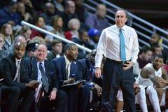2015 el baloncesto de los hombres del NCAA - Templo-Tulsa Imagenes de archivo