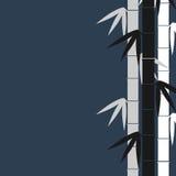 El bambú proviene el fondo libre illustration