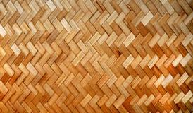 El bambú tejido pela el modelo Imágenes de archivo libres de regalías