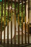 El bambú y la tienda de los indios norteamericanos Foto de archivo libre de regalías