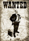 El banquero arrogante Fotografía de archivo libre de regalías