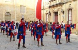 El banquete de Malta La Festa una Malta Foto de archivo