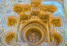 El baptisterio romano Imágenes de archivo libres de regalías