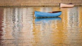 El barco azul fotos de archivo libres de regalías