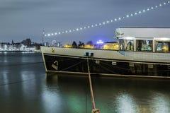 El barco del partido de Radersteam de la majestad, Países Bajos Fotos de archivo libres de regalías