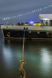 El barco del partido de Radersteam de la majestad, Países Bajos Foto de archivo