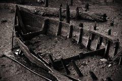 El barco permanece Imagen de archivo libre de regalías