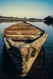 El barco solo Imágenes de archivo libres de regalías